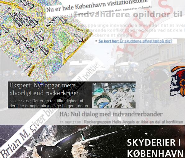 Skyderier i København !