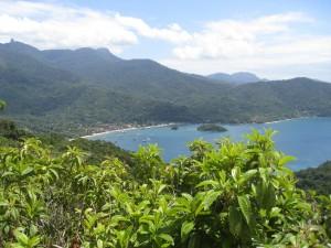 Udsigt over Ilha Grande