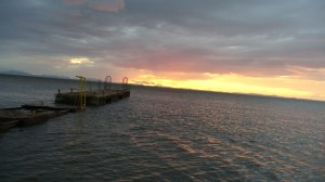 Solnedgang paa Isla Ometepe - Verdens Bedste