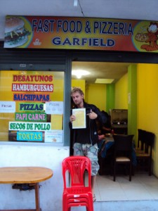 Garfield Pizzaria i Baños