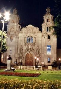 Kirke i Miraflores Lima