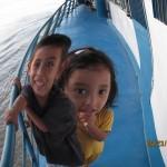 Båden fra Tarapoto til Lagunas og videre til Iquitos