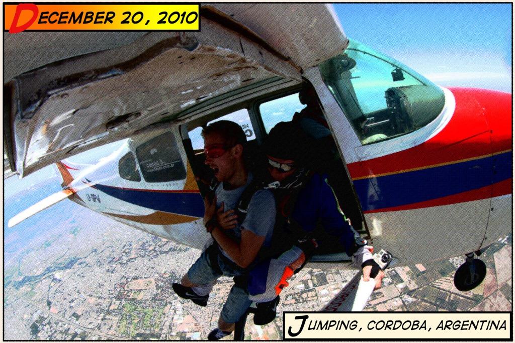 Skydiving i Argentina